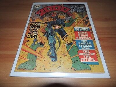 Judge Dredd : 2000AD sci-fi special 1980 prog comic Issue 3 Empire Strikes Back