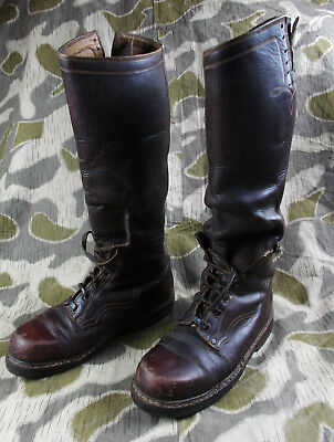 Ww2 German Army Elite Police Tank Officers Motorcycle Krad Boots - Rare!