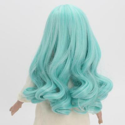 31cm Gradient Curly Hairpiece Wig for 18inch American Girl Dolls Hair Making