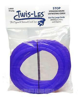 Twis-Les Electrical Cord Cover & Detangler - PURPLE
