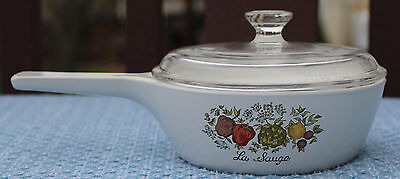 Corning Spice of Life Menuette 1 pint Sauce Pan Lid P-81-B P81C made in USA