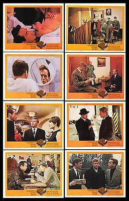 THE DEFECTOR orig 1966 lobby card set MONTGOMERY CLIFT/HARDY KRUGER/MACHA MIREL
