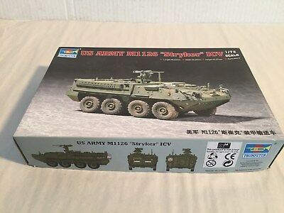 New  Sealed Contents 1/72 Trumpeter US Army M1126 Stryker ICV
