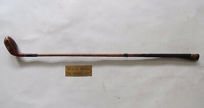 antique Walter Hagen Hickory Stick putter wood vintage golf club
