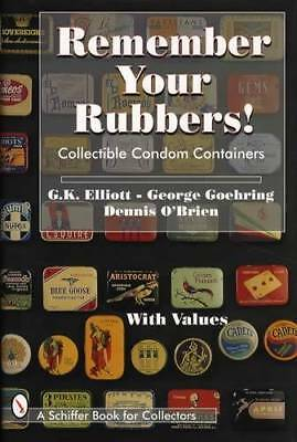 Vintage Rubber Condom Tin Pack Ref Book