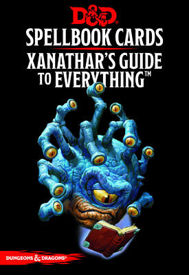 D&D: Xanathar's Guide to Everything (95 Cards) Spell Cards