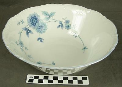 Mitterteich Bavaria Germany MIT161 Blue Floral Fine China Vegetable Bowl  (HH)