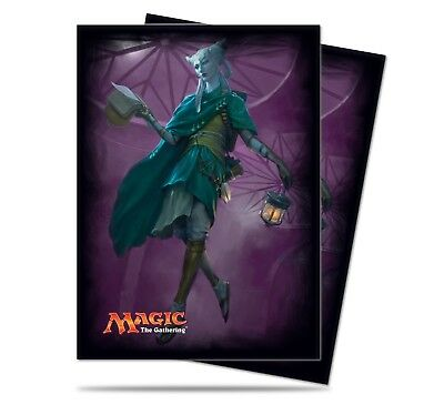 MTG Magic the Gathering Sleeves - Eldritch Moon - Tamiyo - V2 (80 sleeves)