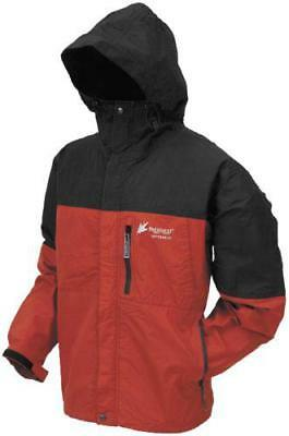 Frogg Toggs Toad Rage Jacket Red/Black 2X-Large
