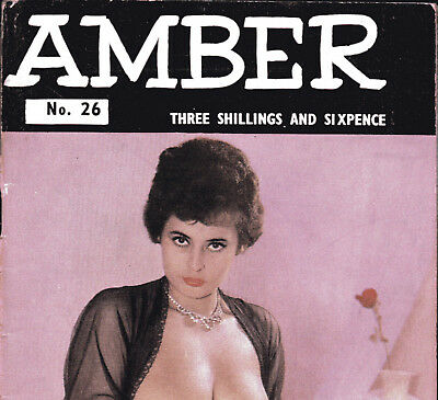 AMBER No.26 ca.1961:Classic Glam/Art Studies-Vicky Kennedy,June Palmer