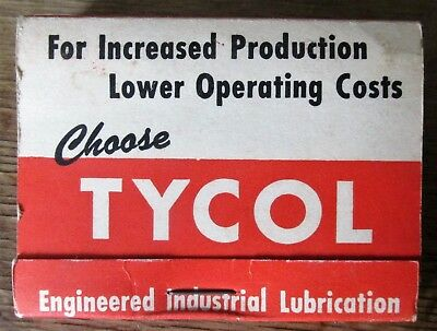 TYCOL Lubricants By Flying A Tydol Tide Water Oil Company Promotional Golf Tees