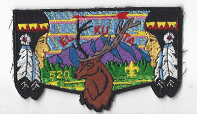 OA  El-Ku-Ta Lodge 520	S25 Flap Great Salt Lake Council