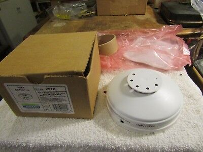 Edwards 291B Automatic Heat Detector 24V 135 DF Fixed Temperature & Rate of Rise