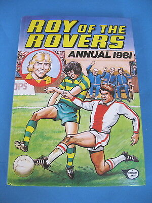 Roy Of The Rovers Annual  1981