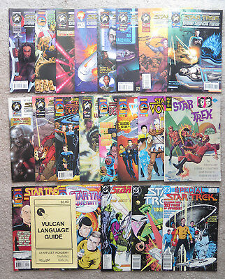 Star Trek Gold Key 1974 Marvel Comic Book lot Vulcan Language Deep Space Nine