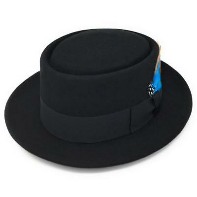 db2f509f3f6b4 Pork Pie Hat - Lined - Wool Felt. Fabric Protection. Cotswold Country Hats