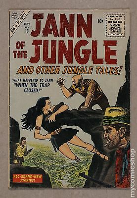 Jann of the Jungle #13 1956 GD+ 2.5
