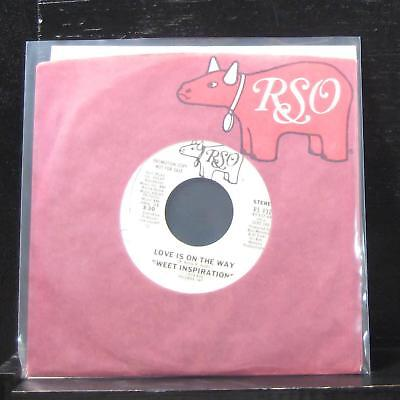 "Sweet Inspirations - Love Is On The Way 7"" VG+ RS 932 Vinyl 45 Promo"