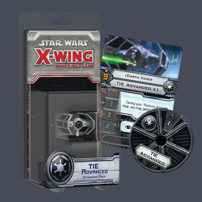 Star Wars X-Wing Tie Advanced Expansion Pack FFG SWX05