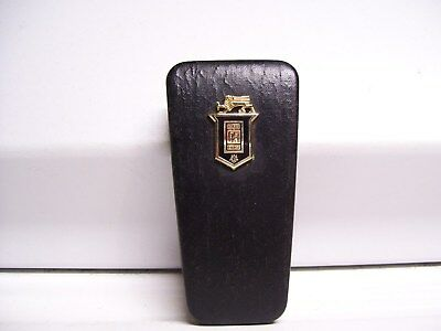 Vintage original rare ROLLS-ROYCE hard shell pocket key case auto part 60s 50s