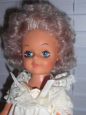 """Reliable Toy Co. ~ Vintage 1977 Vinyl HP Beautiful 18"""" Canadian Doll"""
