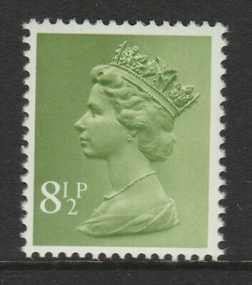 GB 1975 Machin Definitive 8 1/2p light yellowish green SG X881 MNH (2B)