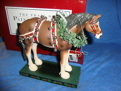 Trail of Painted Ponies Christmas Clydesdale 2004 Item #12203 BRAND NEW IN BOX