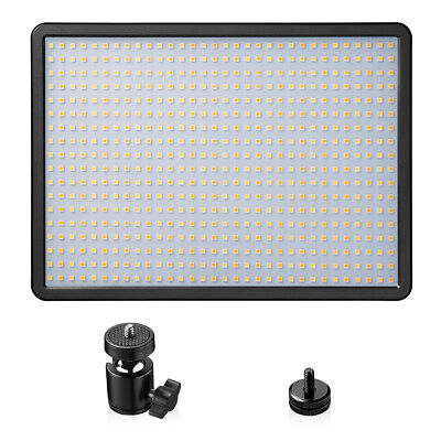 Powerextra 576 Beads 84W LED Video Light Panel Adjustable Color Temperature