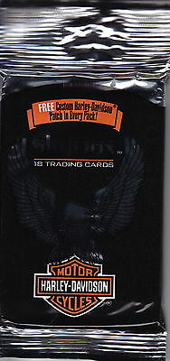 HARLEY DAVIDSON - 1994 Jumbo Trading Cards Packs (25) by Skybox #NEW