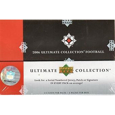 NFL - 2006 Ultimate Collection Football Card Sealed Hobby Box (Upper Deck) #NEW