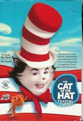 DR SEUSS - Cat in the Hat Movie Trading Cards Box (Sealed) #NEW