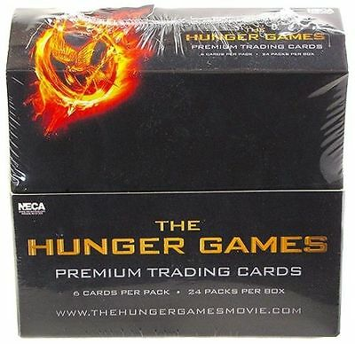 THE HUNGER GAMES - Premium Trading Cards Factory Sealed Box (NECA) #NEW
