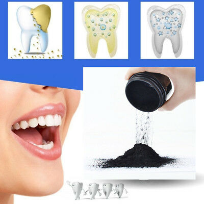 Teeth Whitening Powder Natural Organic Activated Charcoal Bamboo Toothpaste 1Pc