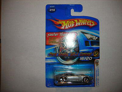 2005 Hot Wheels First Editions Realistix Ford Shelby GR-1 Concept FTE FREE SHIP