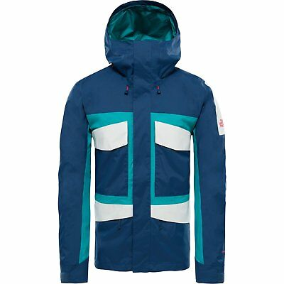 The North Face Capsule Fantasy Ridge Mens Jacket Coat - Blue Wing Teal Porcelain