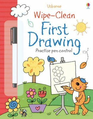 Wipe-Clean First Drawing 9781409563280 (Paperback, 2013)
