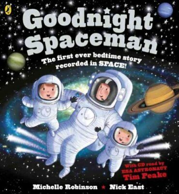 Goodnight Spaceman Book and CD by Michelle Robinson 9780141376073