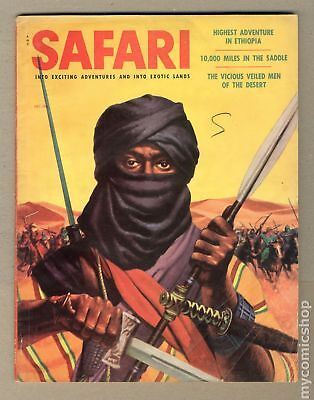 Safari Magazine #Vol. 3 #6 1956 VG- 3.5