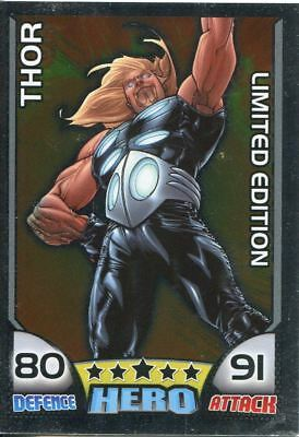Marvel Hero Attax Series 1 Limited Edition Foil Card LE3 Thor
