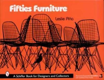 50s Furniture book Eames Herman Miller Knoll MORE