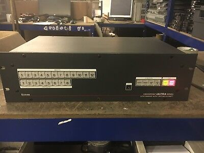 ASRL619 Extron Crosspoint Ultra series ultra wideband matrix switcher with ADSP