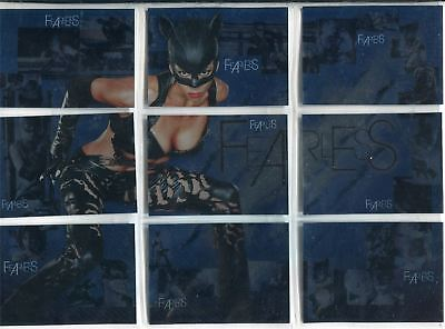 Catwoman The Movie Complete Fearless Chase Card Set F1-9