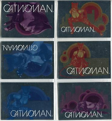 Catwoman The Movie Complete Cat Vision Chase Card Set CV1-6