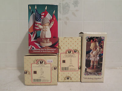 Enesco Memories of Yesterday lot We Belong Together Time For Bed Good Girl MORE