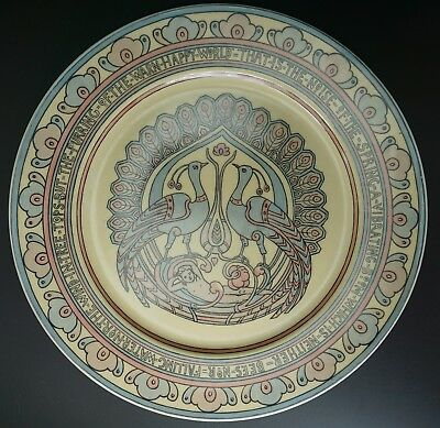 Mary Bacon Jones The Jungle Book Folk Design Plate for Guerin Limoges - F
