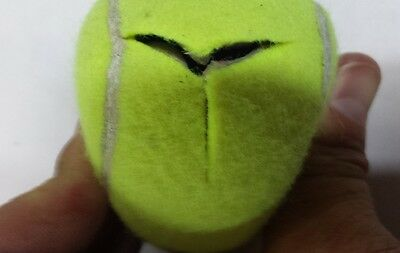 300 PRE-CUT PRECUT used Tennis Balls For School Chairs and Tables Free Shipping