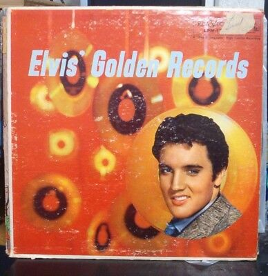 Elvis Presley Elvis' Golden Records LP 1960s pressing