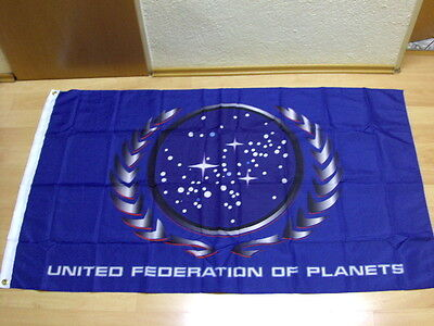 Fahnen Flagge Star Trek United Federation of Planets - 90 x 150 cm