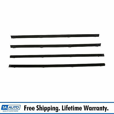 Rear Door Weather Strip Seal Kit Inner & Outer LH RH Set of 4 for Suburban SUV