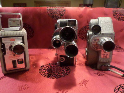 lot of 3 8mm movie cameras